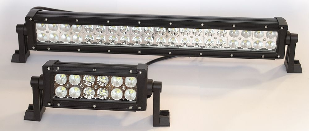 Focos y barras de led Ria World Italia