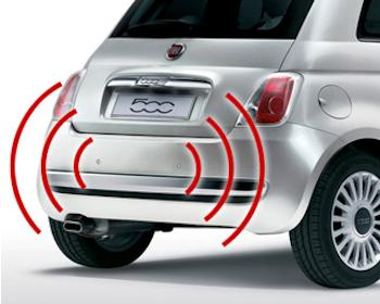 Rear sensors and WDR car